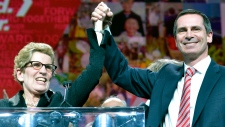 Wynne becomes leader of Ontario Liberal party