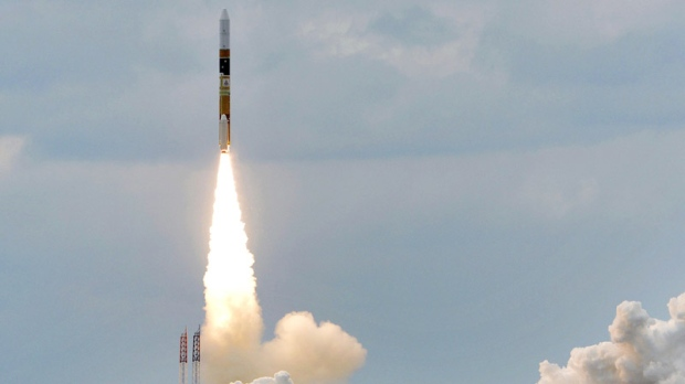 Japan launches 2 satellites into orbit