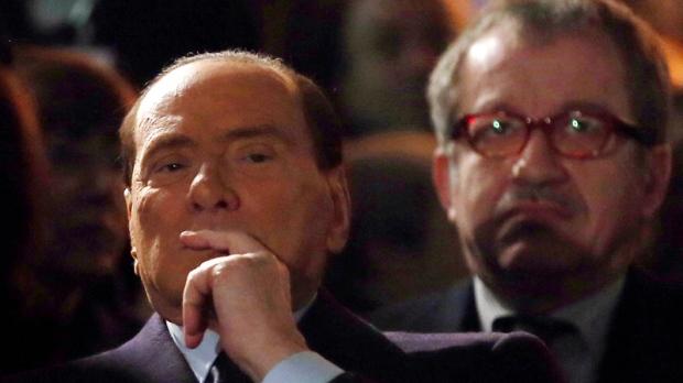 Berlusconi praises Mussolini