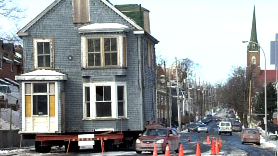 CTV Atlantic: Heritage home gets new location