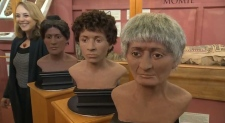 Facial reconstructions of McGill's three mummies