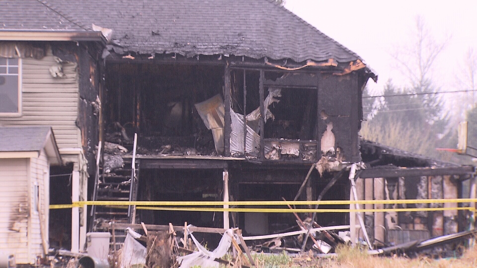 Surrey house fire