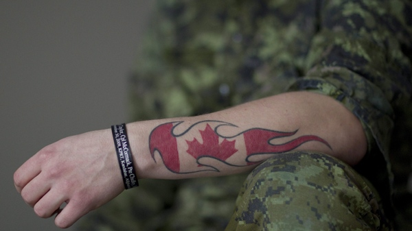 One bomb many lives grief still resonates on homefront for Canadian patriotic tattoos