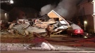 Home destroyed by explosion and fire on Activa Avenue in Kitchener on Sunday, January 27
