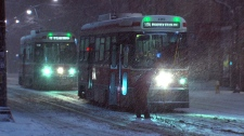 Heavy snow Toronto GTA