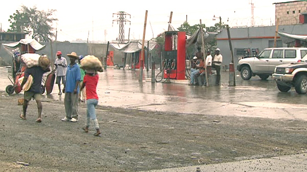Gas stations in Port-au-Prince are closed for fear that protesters could use the fuel to set fires.