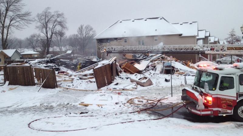Weather Kitchener: Kitchener House Explosion
