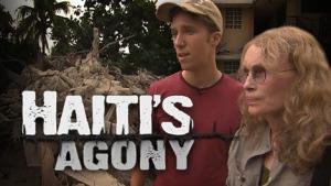A year after the quake through the eyes of Craig Kielburger and actress and humanitarian Mia Farrow.