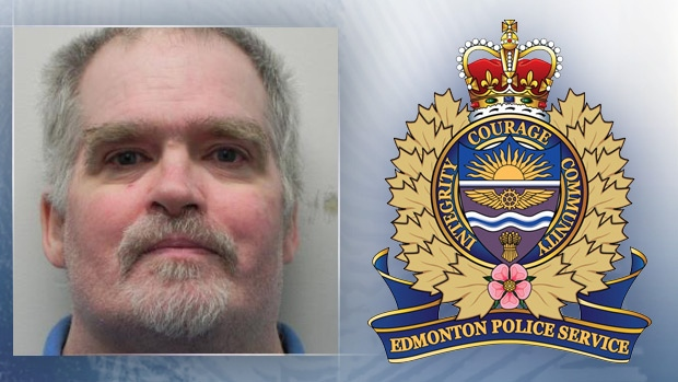 Edmonton Police are warning the public ahead of Bruce Windsor's release from a regional psychiatric facility, after serving a two year sentence. Supplied.