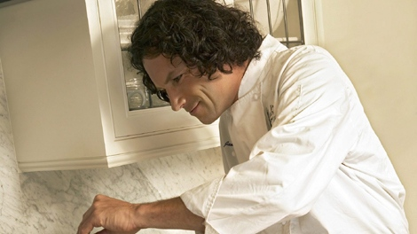 Chef Jamie Kennedy prepares a meal in this undated handout photo. (THE CANADIAN PRESS)