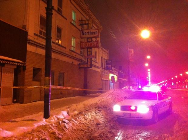 Northern Hotel stabbing