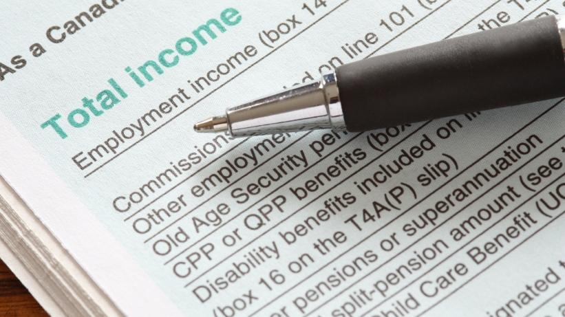 Taxes tax form Canada Revenue Agency