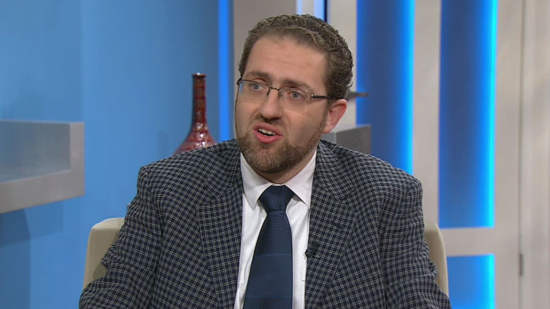 Dr. Anas al Kassem appears on Canada AM from CTV studios in Toronto, Tuesday, Jan. 29, 2013.