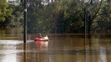 Flood Australia shelter