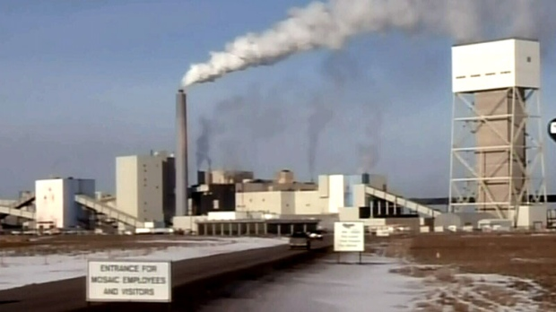 Mine fire Potash Saskatchewan