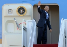 Obama headed to Las Vegas on Jan. 29, 2013.