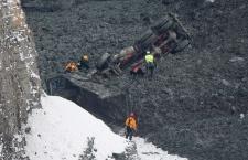 Quebec quarry landslide