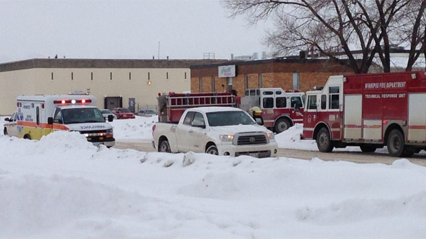 Chemical spill in Winnipeg
