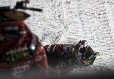 Caleb Moore snowmobile crash
