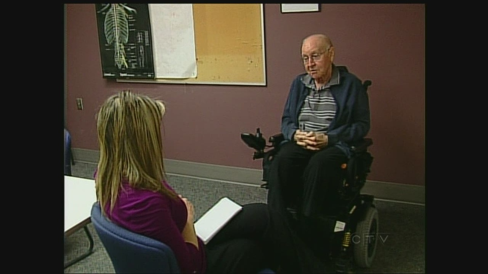Canadian veteran Col. Neil Russell speaks with CTV News in London, Ont. on Tuesday, Jan.29, 2013.