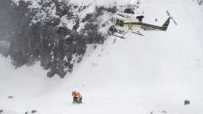 Quebec landslide quarry