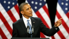 President Barack Obama speaks about immigration
