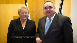 CTV National News: Quebec premier visits Scotland