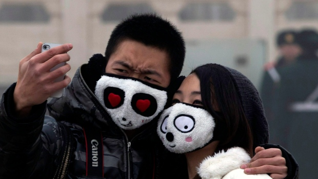 Off-the-chart smog in China