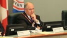 Markham Mayor Frank Scarpitti is pictured during a council meeting Tuesday, Jan. 29, 2013. (Tom Stefanac/CP24)
