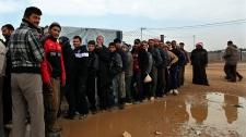 Syria flee Jordan