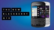 New BlackBerry model Q10