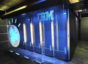 This Jan. 13, 2011 photo provided by IBM shows the computer system known as Watson at IBM's research centre in Yorktown Heights, N.Y. (AP Photo/IBM, File)