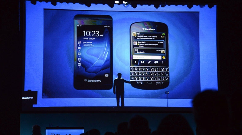 CEO Thorsten Heins is stepping down and John Chen was appointed chairman of BlackBerry's board of directors and interim CEO. (Nathan Denette / THE CANADIAN PRESS)