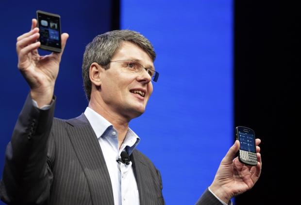 BlackBerry introduces the BlackBerry 10