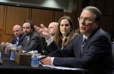 Gabrielle Giffords speaks at gun control hearing