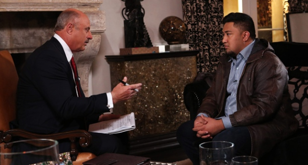 Ronaiah Tuiasosopo, manti Te'o, dr phil, interview