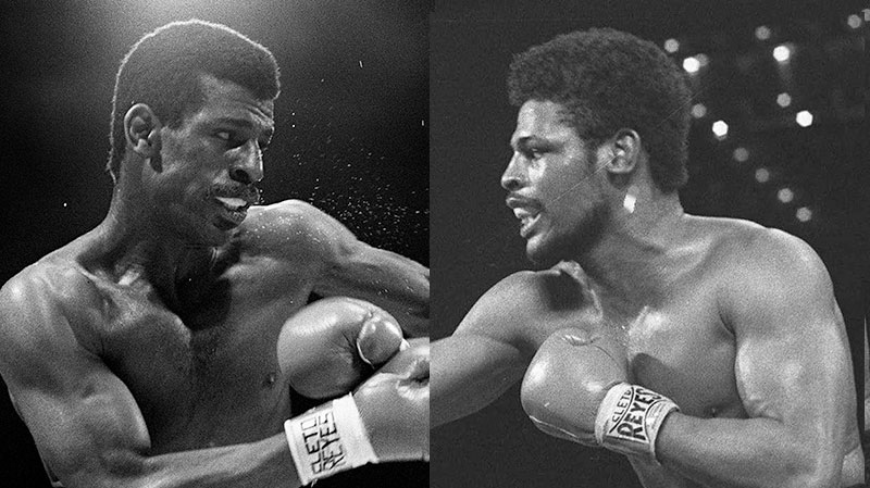 Brothers Michael and Leon Spinks are shown in this composite image from file photos. (Ryan Remiorz / THE CANADIAN PRESS, AP)