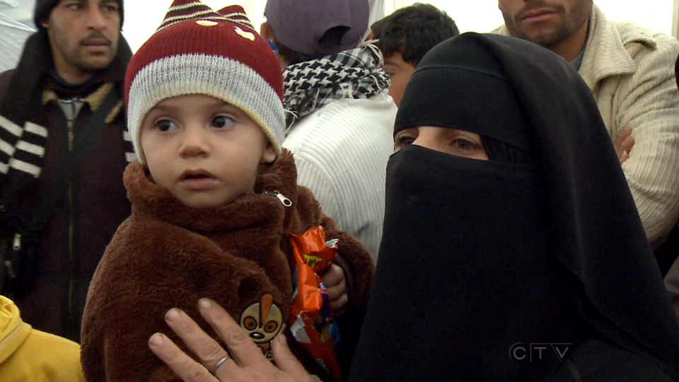 Syrian refugees, arriving daily at camps along the Syria-Jordan border, are putting a strain on resources.