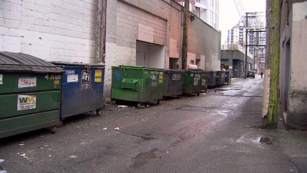 Downtown Vancouver sex assault