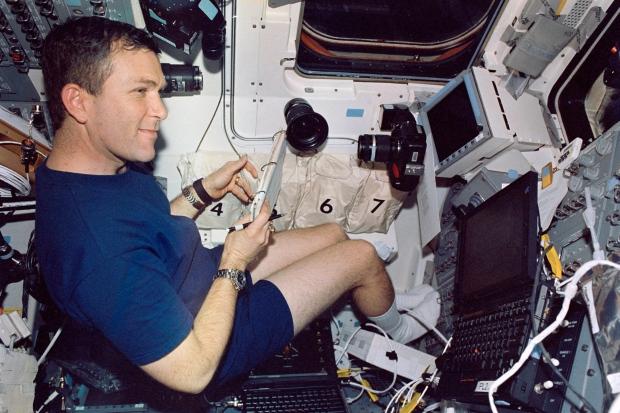 NASA astronaut Rick D. Husband