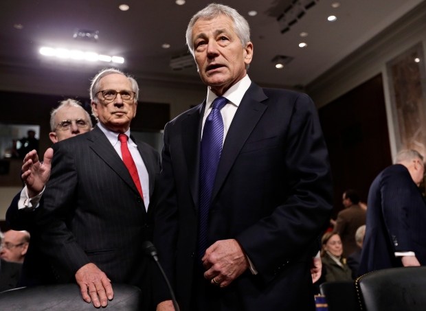 Hagel unafraid to use full military