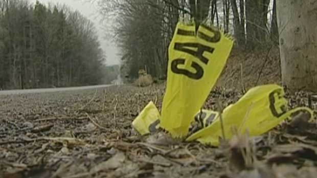 Freeland's body was found in a ditch near the town of Caledon, Ontario.