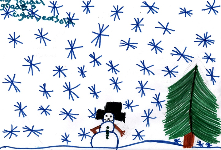 Lily Trudel, Grade 3, St. James School, Smiths Falls