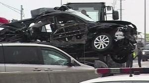 CTV Windsor: Christie Bezaire on I-75 crash