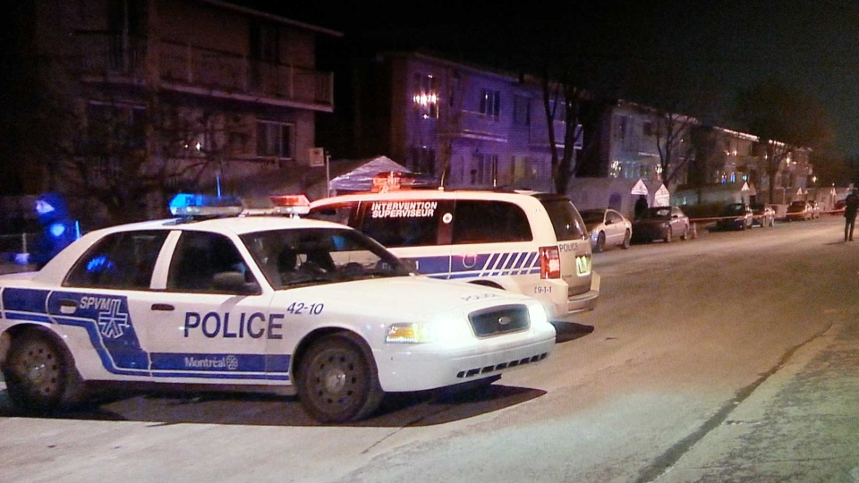 Montreal's 6th homicide took place on Robert Blvd. in St-Leonard on Thursday night.