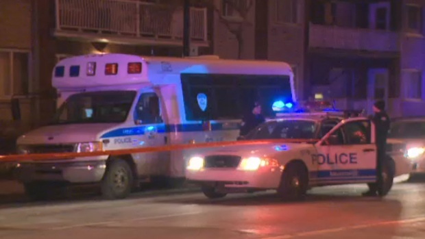 Montreal police overnight stabbing