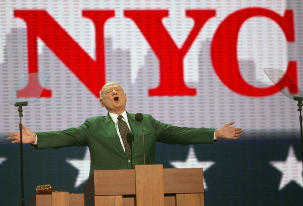 Aug. 30, 2004 file photo of Ed Koch.