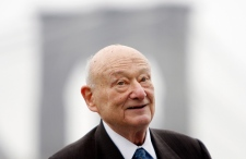 Ed Koch on March 23, 2010.