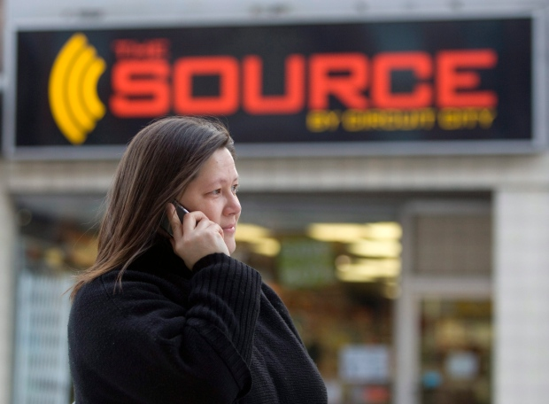 A The Source store in Ottawa on March 2, 2009.