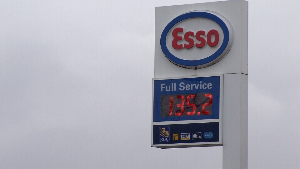 Gas prices broke $1.35 per litre at stations across Metro Vancouver Friday. Feb. 1, 2013. (CTV)